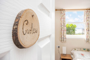 Room sign - 'Curlew'